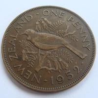 Новая Зеландия 1 пенни 1952 г