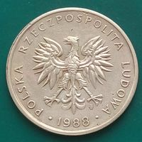 5 злотых 1988 ПОЛЬША