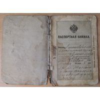 Российский паспорт 1909 г., Лунинец