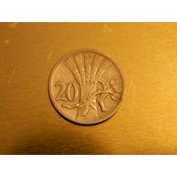 Лот 134: 20 геллеров 1924 Чехословакия
