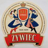 Подставка под пиво Zywiec /Польша/-2