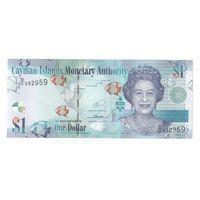 1 долларов  Каймановых островов 2014 года