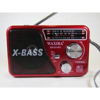 Радиоприемник Waxiba XB-521URT, USB, microSD