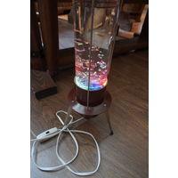 Лампа настольная Радуга с воском
