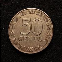 Литва, 50 центов 2000