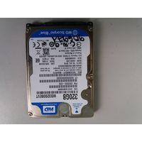 "Жесткий диск для ноутбуков 2.5"" SATA 320Gb WD WD3200BEVT (906971)"