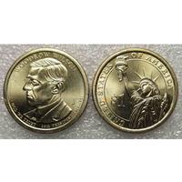 G США 1 доллар 2013 г. президент ВУДРО ВИЛЬСОН UNC