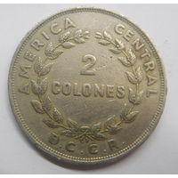 Коста-Рика 2 колона 1968 г