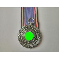 Медаль Люфтшутц. Оригинал. Клеймо 10. Арт43