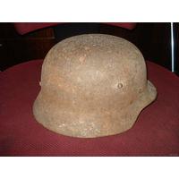 Стальной шлем (каска) Германии (рогатый) не копаный, без повреждений!!! размер 62 - 64
