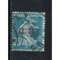 Fr Франция Колонии Алжир 1924 Надп #10