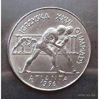 Польша 2 злотых 1995 года. Борьба.