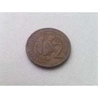 Новая Зеландия 2 цента 1974