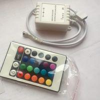 Контроллер Arlight + пульт 24 кнопки для светодиодных лент RGB. Инфракрасный