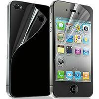 Защитная пленка iPhone 4S (перед, зад)
