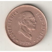 Южная Африка 2 цент 1976 окончание президенства Я.Й.Фуше