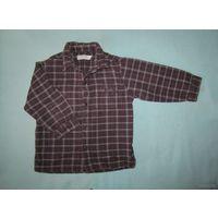 Рубашка теплая, 94 см (3 года)