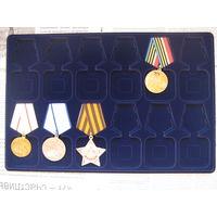 Планшет на 12 орденов (знаков).