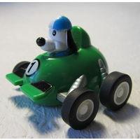 Автомобиль гоночный с собачкой -No14