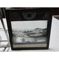 Посёлок Сходница (Украина)фото негатив фото пластина 1920 г.