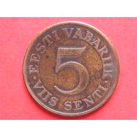 5 сенти 1931 года