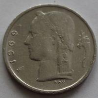 Бельгия, 1 франк 1969 г. 'BELGIE'