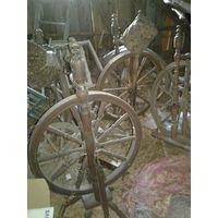 Прялки колеса от прялок.