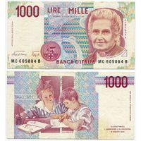 Италия. 1000 лир (образца 1990 года, P114a)