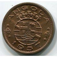 (V3) АНГОЛА - 50 СЕНТАВО 1957 UNC