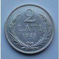 Латвия 2 лата. 1925