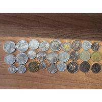 Лот монет Кубы и Перу