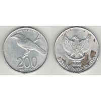 Индонезия km66 200 рупий 2003 год (al)(f15)