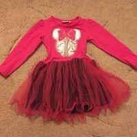 Нарядное платье р. 104, трикотаж