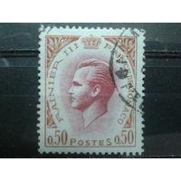 Монако 1969 князь Ренье 3  0,5фр