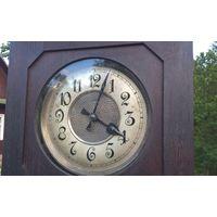 Напольные часы ГУСТАВ БЕККЕР с ЧЕТВЕРТНЫМ боем