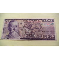 Мексика 100 песо 1982 г.     распродажа