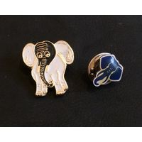 Значки. Слоны.