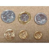 Сейшельские острова НАБОР 6 монет 2016