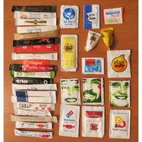 Глюкофилия. Сахар 34 пакетов из разных стран