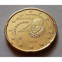 20 евроцентов, Испания 2006 г., AU