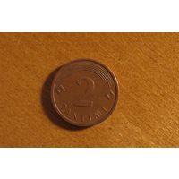 Латвия - 2 сантима - 2006