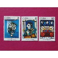 Куба 1978 г. Искусство.
