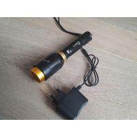 Фонарь аккумуляторный светодиодный, ZOOM