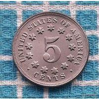 США 5 центов 1882 года