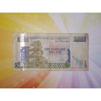 Зимбабве 1000дол. 2003г
