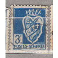 Французские колонии герб флот Алжир 1942-1945 год лот 1012