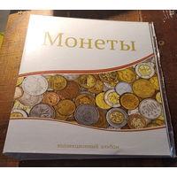 Альбом-папка для монет формата Оптима.