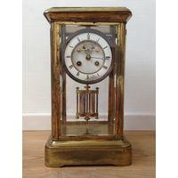 Французские каминные часы с боем. 19 век
