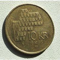 Норвегия 10 крон, 1995 4-16-10