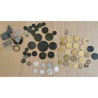 Монеты РИ+Советы+билон и разное.